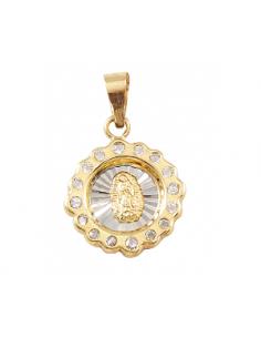 Medalla Virgen Guadalupe...