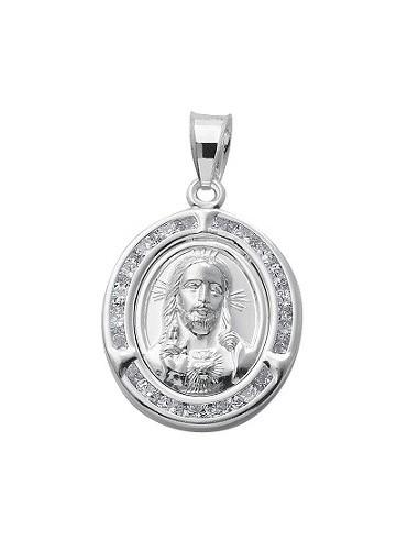 Medalla Sagrado Corazón Oval