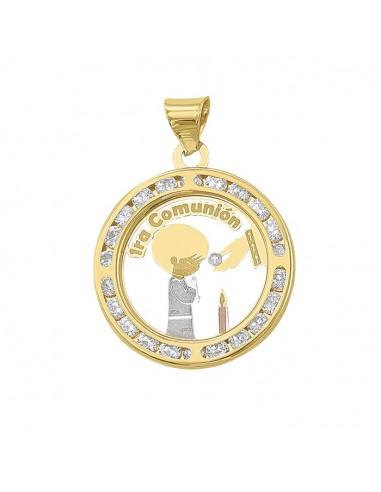 Medalla primera comunión para niño...